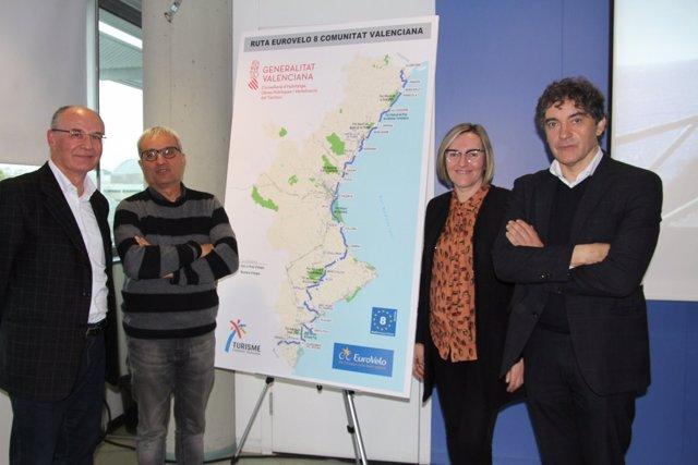 Presentación del proyecto de Eurovelo de la Comunitat Valenciana