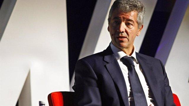 El consejero delegado del Atlético de Madrid, Miguel Ángel Gil Marín