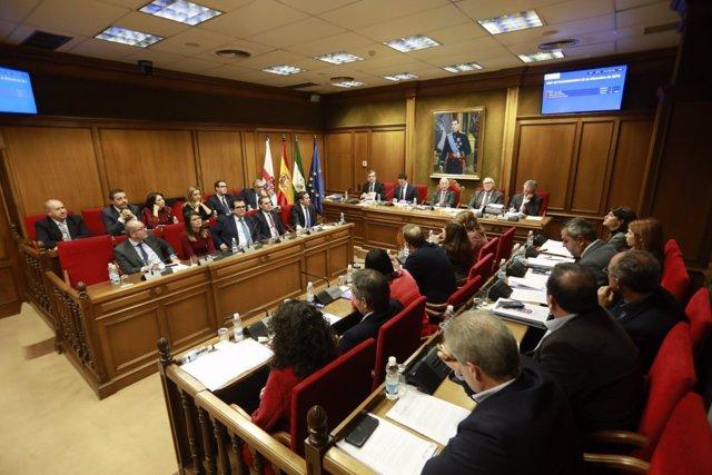 El presupuesto de 2019 de Diputación sale adelante sólo con los votos del PP.