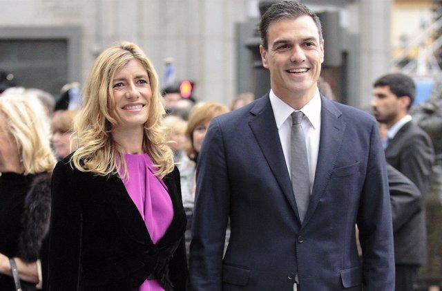 BEGOÑA FERNÁNDEZ Y PEDRO SANCHEZ
