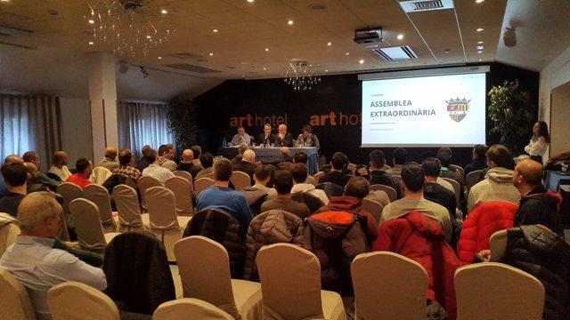 Assemblea extraordinària del FC Andorra