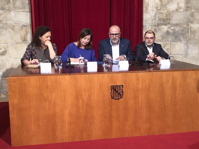 Acord financer entre Govern i Consell de Mallorca