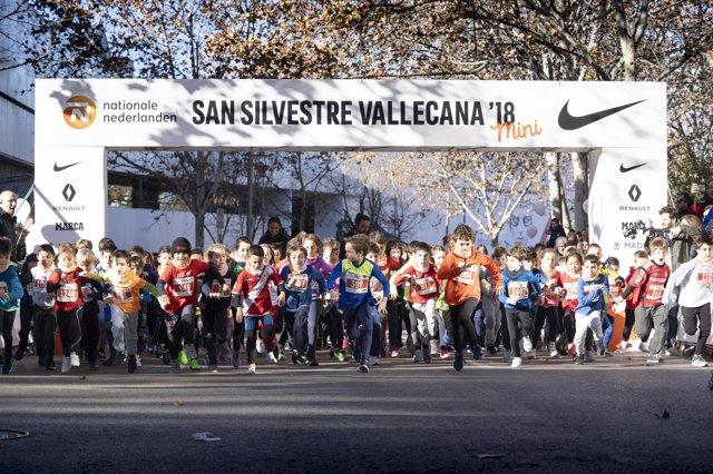 La San Silvestre Vallecana Mini celebra su cuarta edición con 1.500 niños