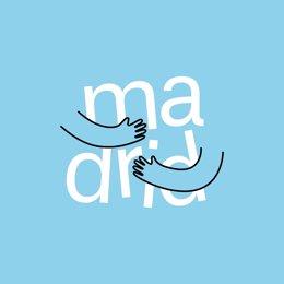 Logo de 'Madrid Te Abraza'