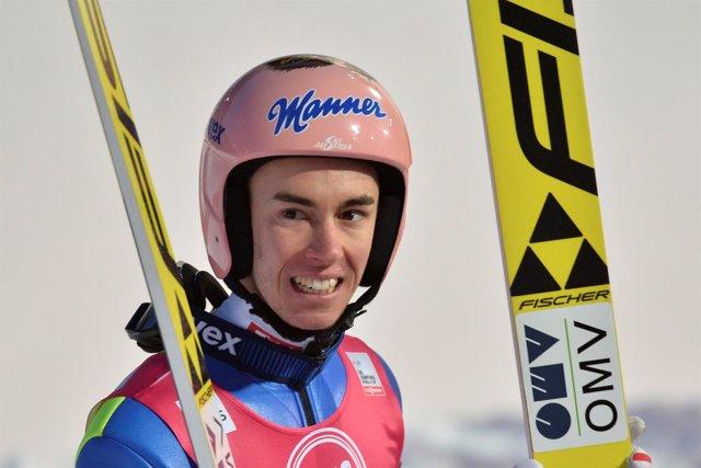 El esquiador austriaco Stefan Kraft