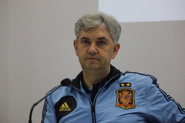 José Venancio López Seleccionador Nacional De Fútbol Sala