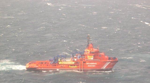 Salvamento Marítimo localiza el 'Sin Querer Dos'