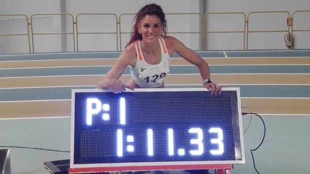 La atleta española Laura Bueno