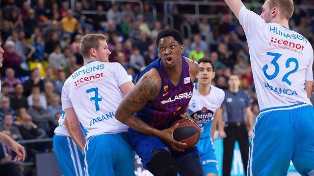 Barça Lassa, líder de la ACB