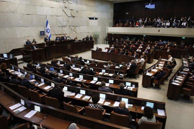 Vista general del Parlamento israelí, la Knesset