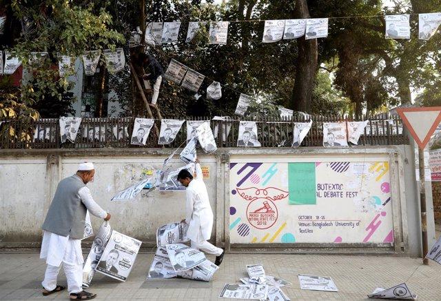 Elecciones en Bangladesh