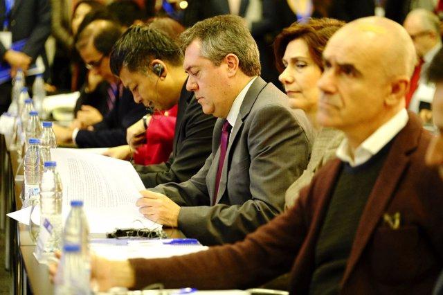 El alcalde de Sevilla, Juan Espadas (PSOE)