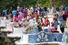 El nombre de visitants a Barcelona augmenta un 4,58% (GETTY - Archivo)