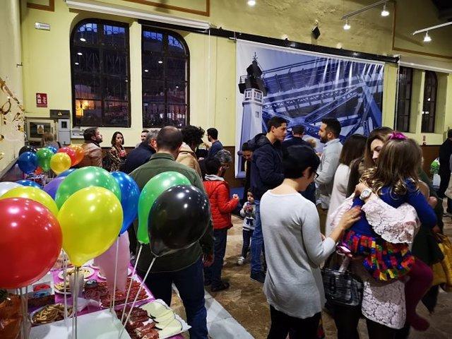 Fiesta infantil solidaria de trabajadores del Puerto de Almería
