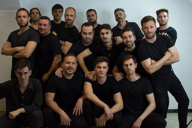 Miembros de Red Teatro Musical.