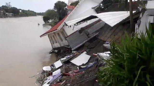 Tormenta tropical 'Usman' en Filipinas
