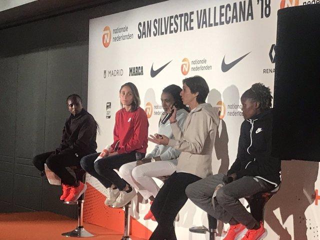 La atleta española Nuria Fernández