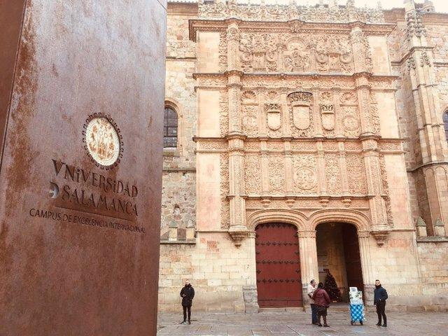 Salamanca.- Patio de Escuelas de la Universidad de Salamanca