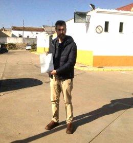 El portavoz del PP de Nerva, José Antonio Lozano