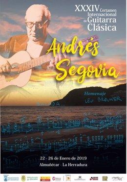 Certamen Internacional de Guitarra Clásica 'Andrés Segovia' 2019