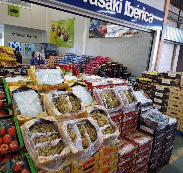Mercado de Frutas y Hortalizas de Mercamurcia