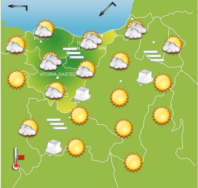 Previsiones meteorológicas para el 31 de diciembre