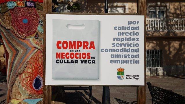 El Ayuntamiento de Cúllar Vega incentiva el comercio local