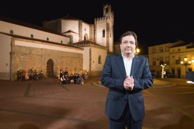 Mensaje de fin de año de Guillermo Fernández Vara desde Zalamea