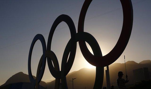 Aros olímpicos en Río de Janeiro