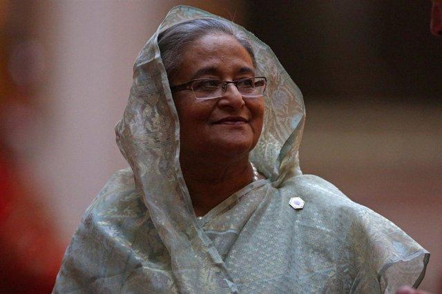 La primera ministra de Bangladesh, Sheij Hasina