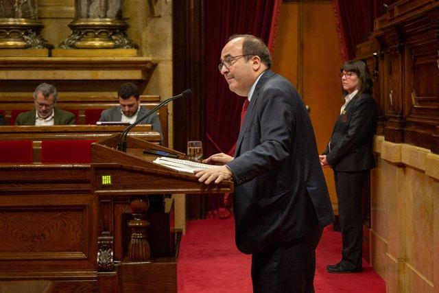 Debate sobre los plenos del 6-7 de septiembre de 2017 en el Parlament de Catalun