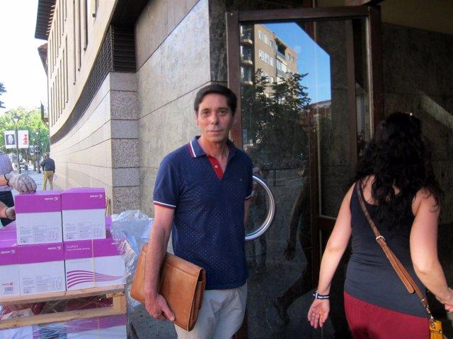 Lino Rodríguez, el día del juicio.