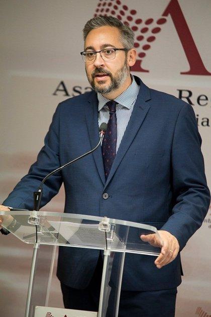 """Martínez (PP): """"El PP sale a ganar el partido de mayo, sin distraerse con lo que pase a su izquierda o a su derecha"""""""