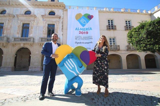 En Almería, celebración tras ser elegida la ciudad Capitalidad Española de la Ga