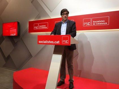 """Illa (PSC) cree que Torra """"no tiene los pies en el suelo"""" y les dificulta apoyar las cuentas catalanas"""