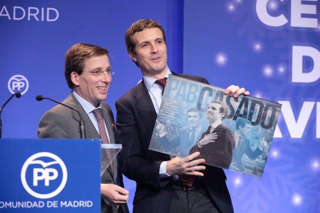 Pablo Casado y José Luis Martínez Almeida