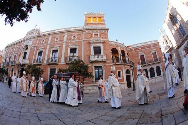 Misa Exequial Por El Arzobispo Emérito De Mérida-Badajoz, García Aracil