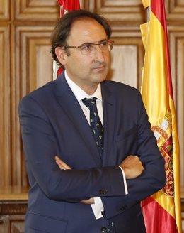Alfonso Polanco, alcalde de Palencia.