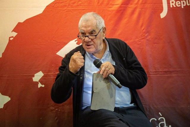 El candidato de ERC a la alcaldía de Barcelona, Ernest Maragall (ARCHIVO)