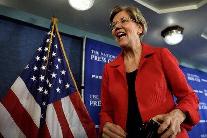 La senadora demócrata Elizabeth Warren anuncia su precandidatura presidencial para 2020