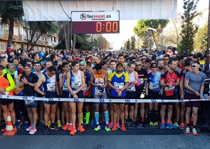 Mohamed Blal y Lucía Morales ganan por cuarto año consecutivo la XXXVII carrera San Silvestre