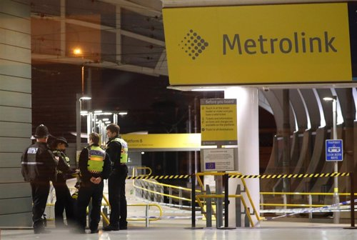 Apuñalamiento en una estación de Manchester en Nochevieja