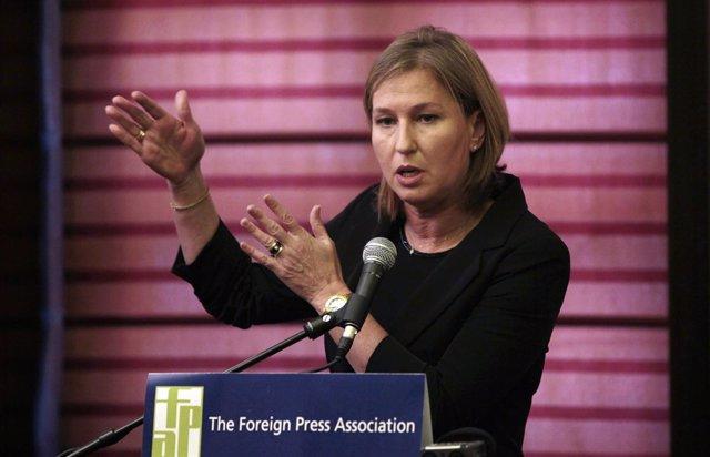 Tzipi Livni, colíder de Unión Sionista, en una foto de archivo
