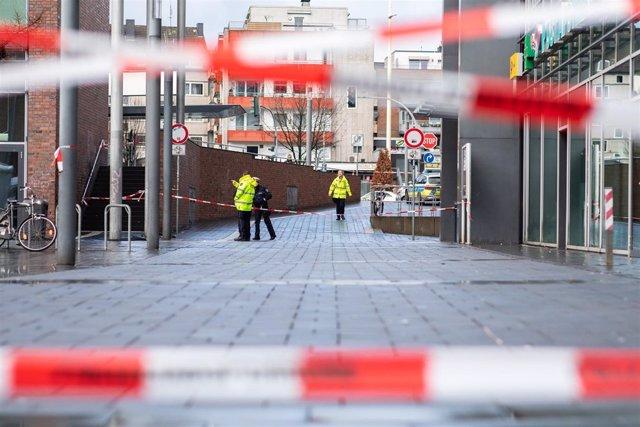 Cordón policial tras un atropello múltiple en el oeste de Alemania