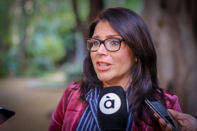La síndica de Cs en Les Corts, Mari Carmen Sánchez