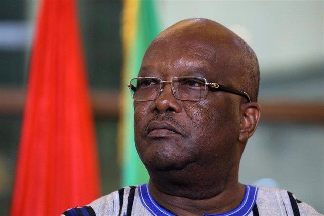 El presidente de Burkina Faso, Roch Marc Christian Kaboré.