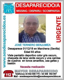 José TB, desaparecido