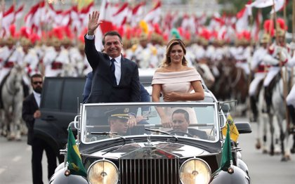 Jair Bolsonaro toma posesión como nuevo presidente de Brasil