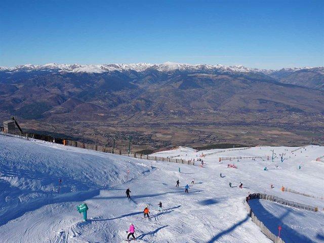 L'estació d'esquí La Masella (Girona)