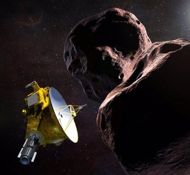 New Horizons, nau espacial que explora un món més distant
